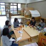 子育て支援センター 茶話会